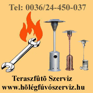TERASZFŰTŐ SZERVIZ www.hőlégfúvószerviz.hu